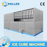 quadratische essbare Würfel-Maschine des Eis-8tons, Eis-Würfel, der Maschine herstellt