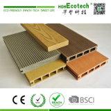 Matériau composé en bois extérieur de Decking d'escompte