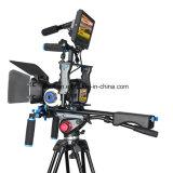 Снаряжение держателя плеча камеры видеоего Handgrip ABS всеобщее для камкордеров DSLR