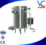 De super Machine Op hoge temperatuur van de Pasteurisatie van het Vruchtesap van de Buis van de Rol