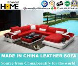 Modernos Muebles de Salón en forma de U sofá de cuero (HC1106)