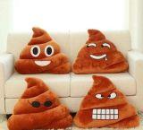 6inch 재미있은 고물 Emoji 베개 견면 벨벳 장난감