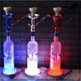 Nuovo narghilé di alluminio di vetro di Shisha del narghilé della bottiglia di vino Bw117