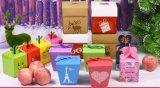 관례는 재생하는 백지 마분지 꽃 또는 화장품 또는 음식 또는 저장 기술 또는 Kraft 또는 브라운 또는 Foldable 또는 서랍 또는 포장 선물 종이상자 인쇄했다