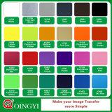 Vinyl Van uitstekende kwaliteit van de Pers van de Hitte van de Kleur van Qingyi het Witte