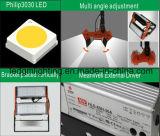 Baugruppen-Entwurfs-rotes und schwarzes IP65 50W LED Lampen-Tunnel-Licht