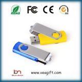 8GB de Aandrijving van de Flits van de Klem USB van het Metaal van Twister