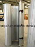 緊急のローラーシャッタードアの銀アルミニウムドア