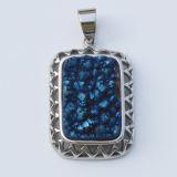 [مي] [لين] نمط مجوهرات طبيعيّ حجر كريم عقيق [كبوشن] مدلّيات