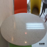 Tableaux dinants de résine en pierre ronde de meubles de restaurant