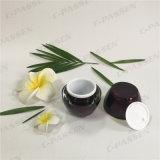 化粧品の包装のための45g円形のワインのアクリルのクリーム色の瓶(PPC-ACJ-096)
