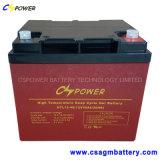 batterie d'UPS de gel de longue vie de température élevée de 12V55ah Cspower