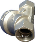 Edelstahl bearbeitete Teil industrielles Soem-CNC gebohrtes Teil maschinell