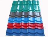 Tegel van het Dakwerk van het trapezoïde de Kleur Verglaasde/de Verglaasde Tegel van het Staal van de Kleur