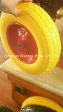 Maxtop Farbe flaches freies PU-Schaumgummi-Rad