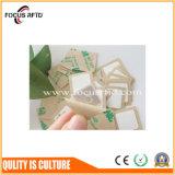 Fabrik direktes NXP MIFARE 1K RFID auf Metallaufkleber mit Antimetallschicht für den Anlagegut-Gleichlauf