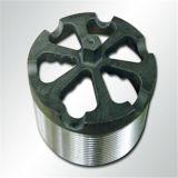 ステンレス鋼の精密CNCによって回される部品