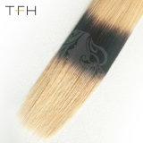 Venda quente 9A Virgem Brasileira Ombre cabelos humanos