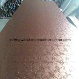 鉄カラー高いGloosy PVCによって薄板にされるMDFのボード