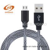 Cinta espiral triangular Cable USB para Android