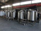 ガス暖房ビールビール醸造所システムビール生産ライン自動に潰すこと