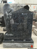 Angel Carving를 가진 미국 Black Granite Monument/Headstones