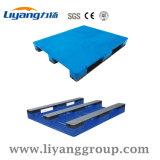 Azul ou cor personalizada paletes em material plástico de alta qualidade para venda
