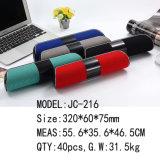 Novo modelo de pano longas colunas Bluetooth com a FM e Tela Jc-216