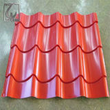 PPGI Matériaux de couverture en carton ondulé Feuille Feuille de décoration avec certificat Pvoc