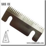С зазубренными лезвиями HSS Режущий нож для упаковочной промышленности машины уплотнения
