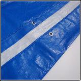 4X6 fabriqués en Chine bleu et blanc PE de bâches pour bateau