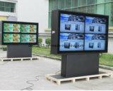 напольный экран касания LCD стойки пола 55inch для автобусной остановки