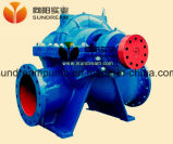 Pompa centrifuga orizzontale di doppia aspirazione di caso di spaccatura
