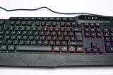 Tastiera variopinta di disegno potente LED Gamer di marchio dell'OEM (KB-829M)