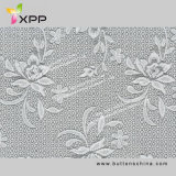 White Dyable Color Elastic Swiss Fabric Lace