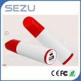 2600mAh Unique Lipstick Shape Travel Charger