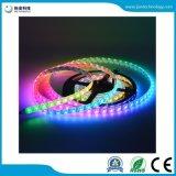 RGB 60LED/M LEIDENE van Apa102c 5V 5050 SMD Strook van het Pixel