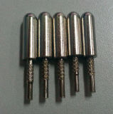 Nouvelle broche Pin à bouchon rond, Inde Bouchons à fiche, bouchon à courant alternatif 5.08 broches (HS-BS-032)