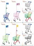 Baby-Kind-Kind-Handzug-Laufkatze-Lebensmittelgeschäft-Einkaufswagen