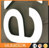 Cara Iluminado LED Letra Signo de Acrílico con Superior Grado
