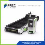 Metalrostfreie Kohlenstoffstahl-Faser-Laser-Ausschnitt-Gravierfräsmaschine 6015 CNC-1000W