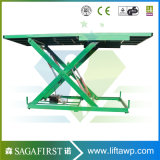 Table élévatrice arrangée électrique de ciseaux de camion