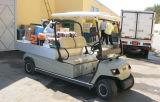 Напряжение питания 2 Seaters Грузопассажирский автомобиль с электроприводом