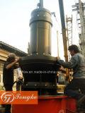 Fabricação de bomba submersível de fluxo misto para esgoto