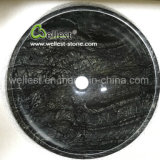 Высокопроизводительные темного цвета мраморной раковиной за круглым столом для бассейна в ванной комнате кухня туалет
