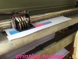 Het glanzende 200*300d 18*12 10oz Materiaal van de Reclame van de Banner van pvc Frontlit Flex