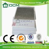 Techo revestido incombustible del PVC del óxido de magnesio