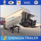 del cemento 40m3 del cargo acoplado a granel semi con el motor eléctrico