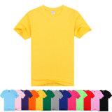 2016枚の卸し売り安い方法ポリエステル人のTシャツ