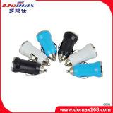 Chargeur de véhicule de course d'adaptateur de pouvoir de connecteur USB du téléphone mobile 2 duel